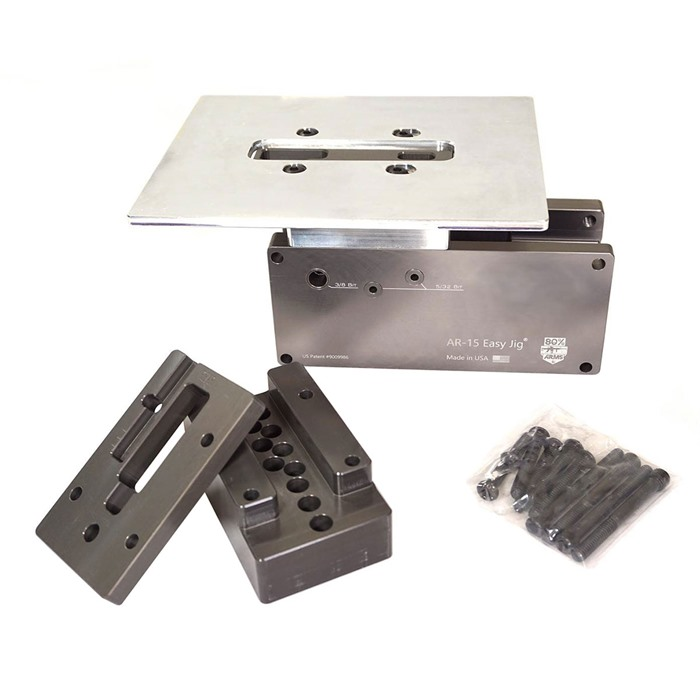 Ar 15 Easy Jig Univeral Fit With Hardened Steel Drill