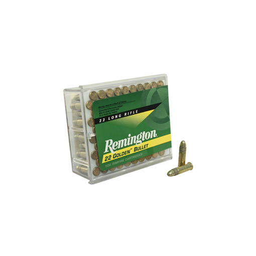 Rem 22LR Gold Bullet - 100 rds