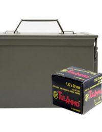 7.62×39 w metal ammo can