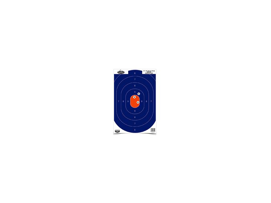 Birchwood Casey Dirty Bird Blue//Orange Silhouette Target 8 Pack